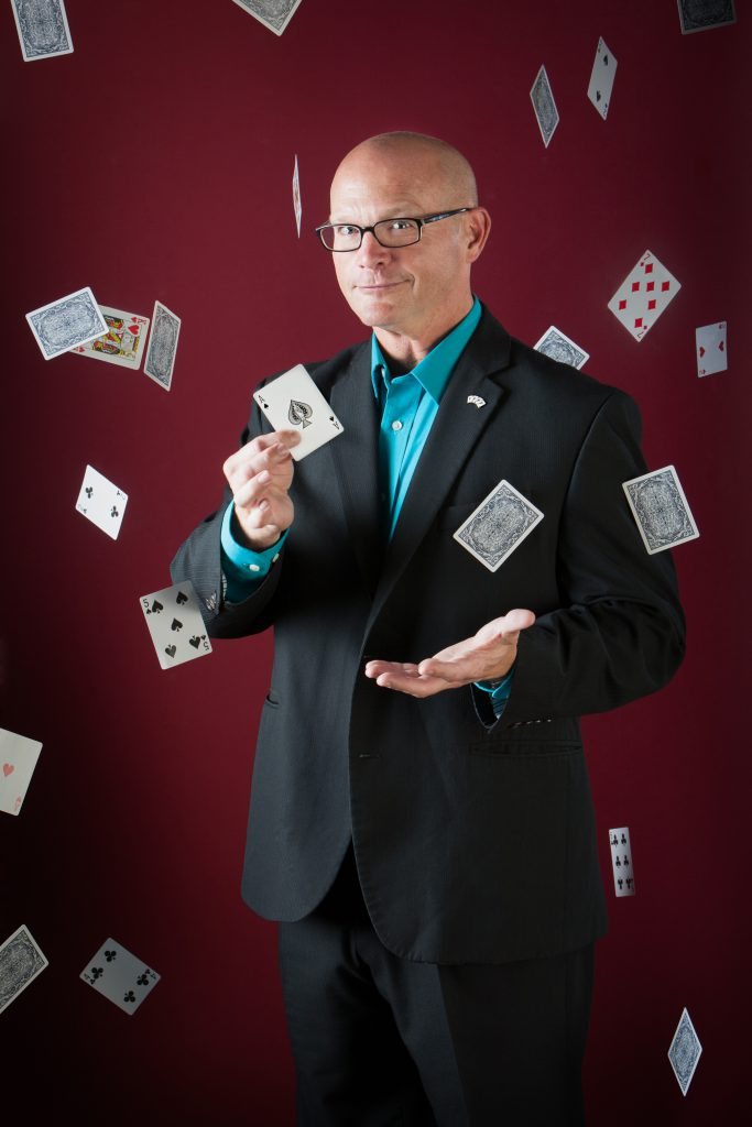 Magician Geoff Williams